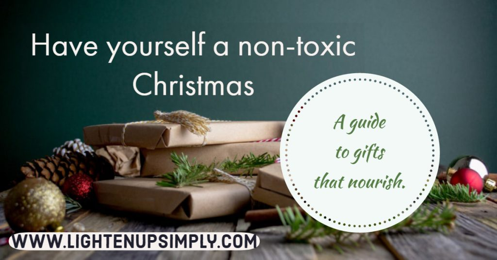 Gifts can be noxious or nourishing.  Give gifts that bring the true intent of love and life!